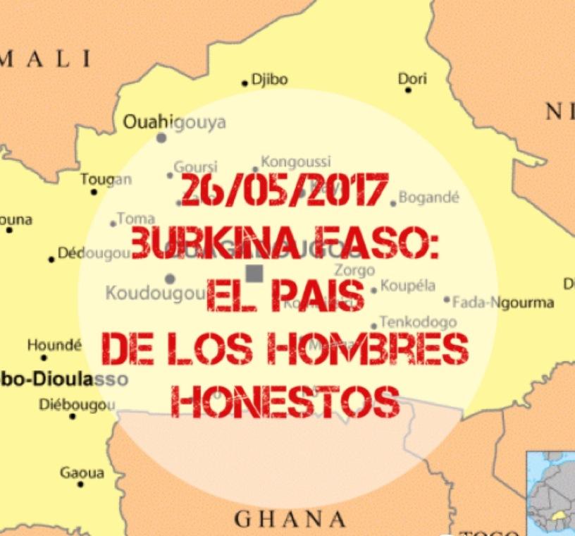 26/05/2017 Evento tematico: Burkina Faso – Madrid Intellectual Club
